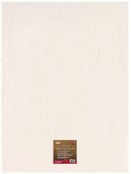 Heritage Cold Press Watercolor Sheet Stock: 140 lb.