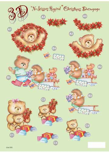 Craft UK Christmas - Bears