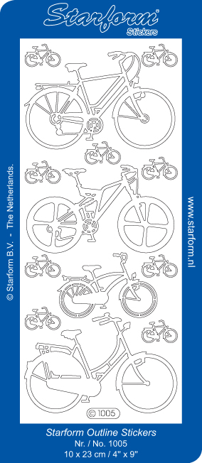Deco Stickers - Bicycles