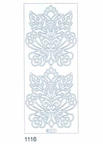 Deco Stickers - Large Flower