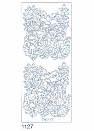 Deco Stickers - Wildflowers With Bird