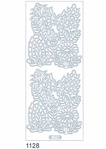 Deco Stickers - Wildflowers With Butterfly