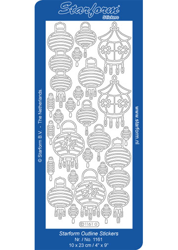 Deco Stickers - Oriental Lanterns
