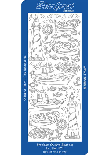 Deco Stickers - Lighthouses and Boats