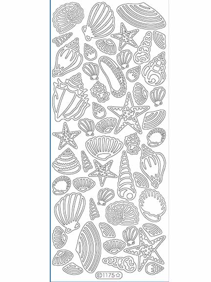 Deco Stickers - Shells