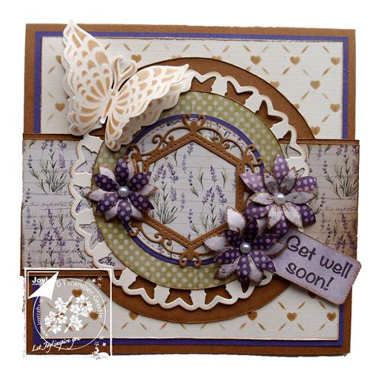 Joy! Crafts Dies Butterfly Doily (4 pc)