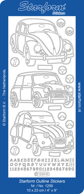 Deco Stickers - Cars
