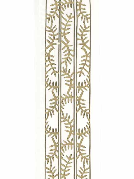 Deco Stickers - Fern Leaf Ribbon