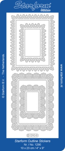 Deco Stickers - Rectangle Frames