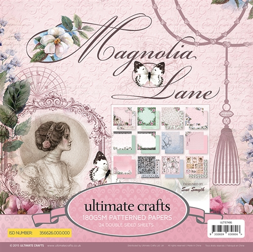 Ecstasy Crafts Paper Pad 6 X 6 (24 Pages ) - Magnolia Lane