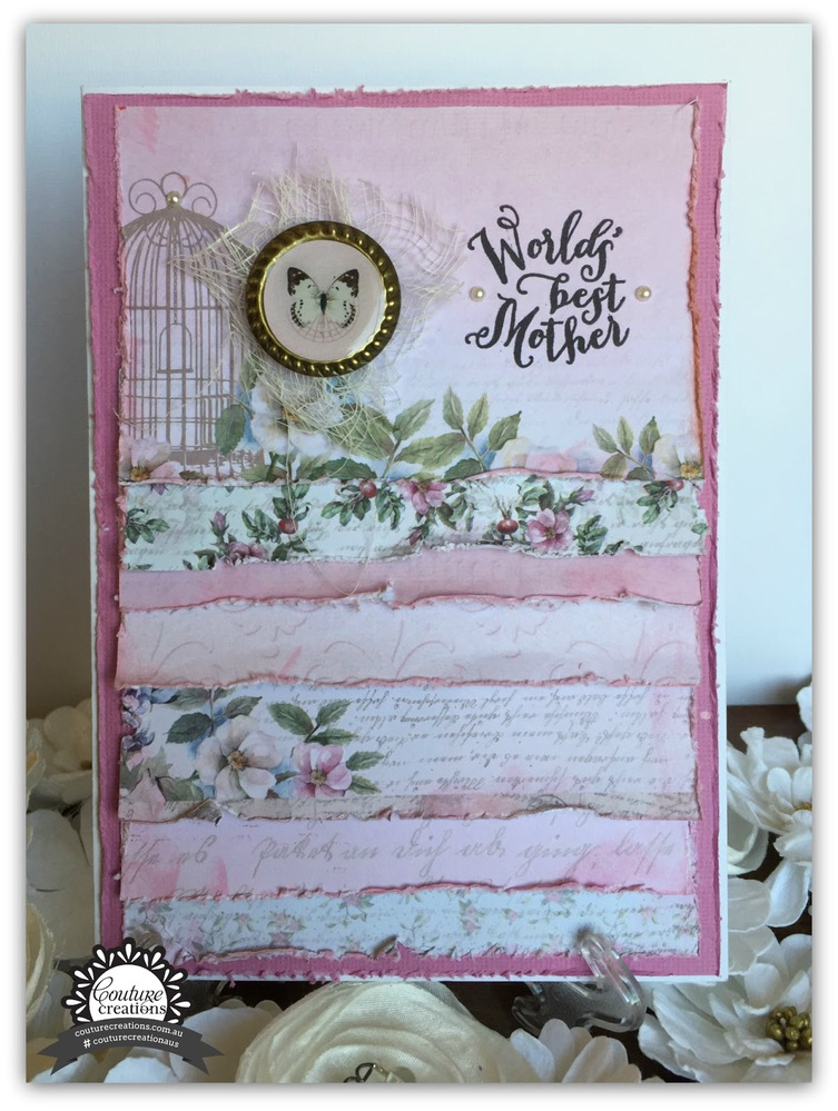 Couture Creations Paper Pad 6 X 6 (24 Pages ) - Magnolia Lane