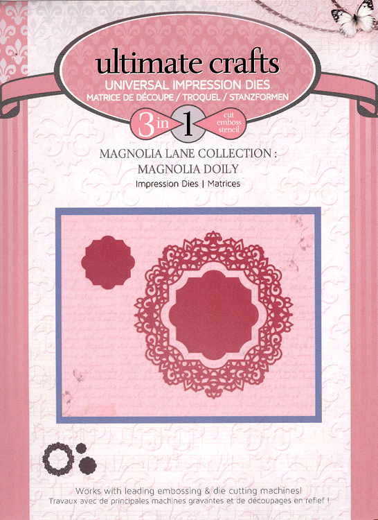 Couture Creations Impression Die - Magnolia Doily