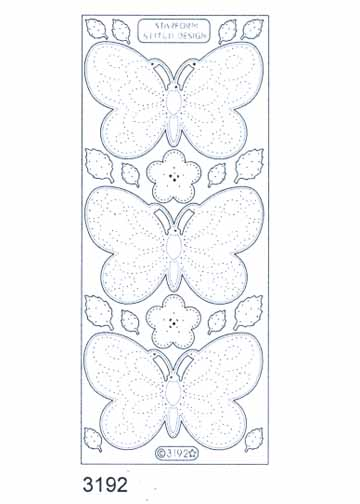 Stitch by Design Stickers - Butterfly