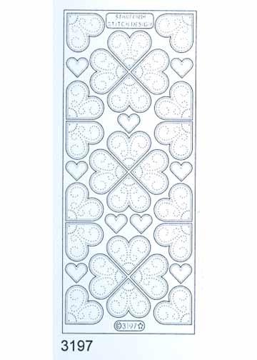 Stitch by Design Stickers - Hearts