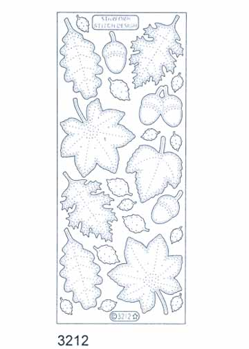 Stitch by Design Stickers - Leaves