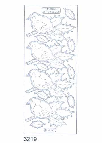 Stitch by Design Stickers - Birds