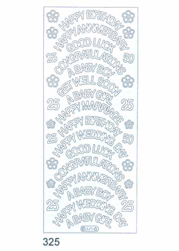 Deco Stickers - Variety - Occasions