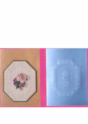 Ecstasy Crafts Easy...just For You Template Flower Border
