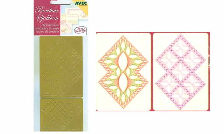 Embroidery Template - squares