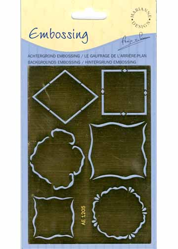 Ecstasy Crafts Mini Frame And Embossing Stencil(ae1205)