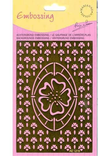 Stencils Flower/flower Background Stencil (ae1216)