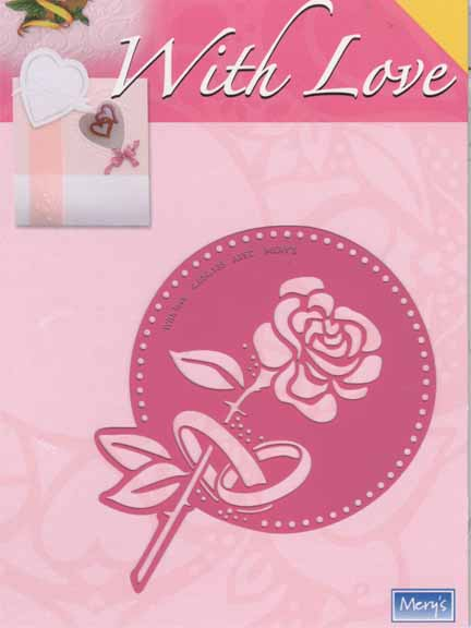 With Love Template - rose/wedding bands