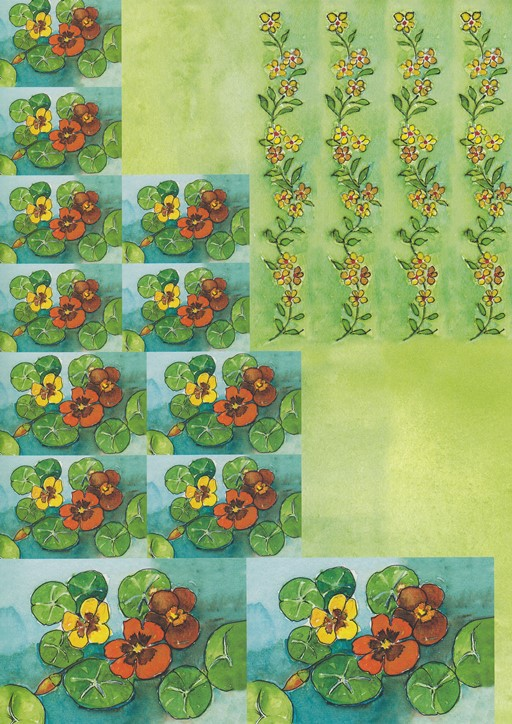 Ecstasy Crafts Sweet Papers Green (4 Sheets)