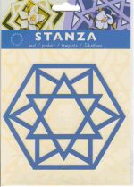 Stanza Template - star of David (ST4803)