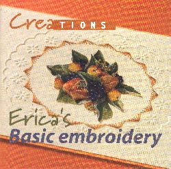 Crea Book Basics of Embroidery