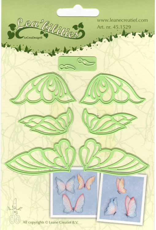Lea'bilitie® Butterflies, cut and embossing die
