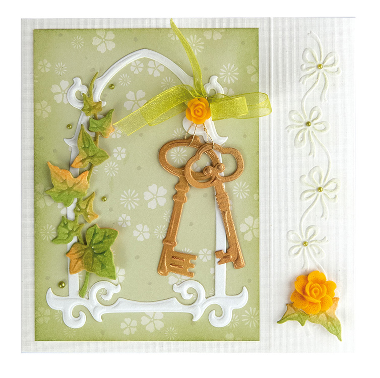 Lea'bilitie® Keys cut and embossing die