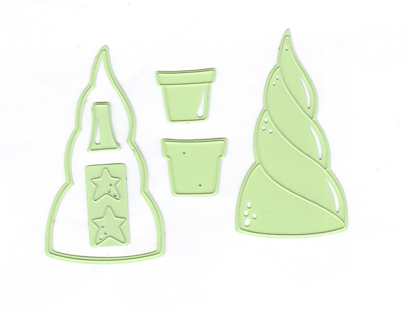 Lea'bilitie® Paper Patch Tree Die