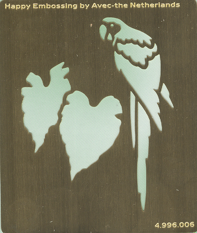 Happy Embossing Stencils - Parrot