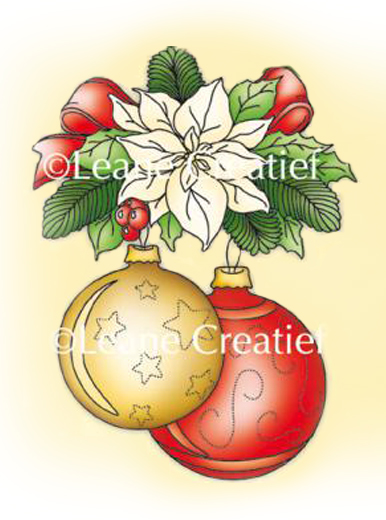 Lea'bilities Clear Stamp - Christmas ornament 2