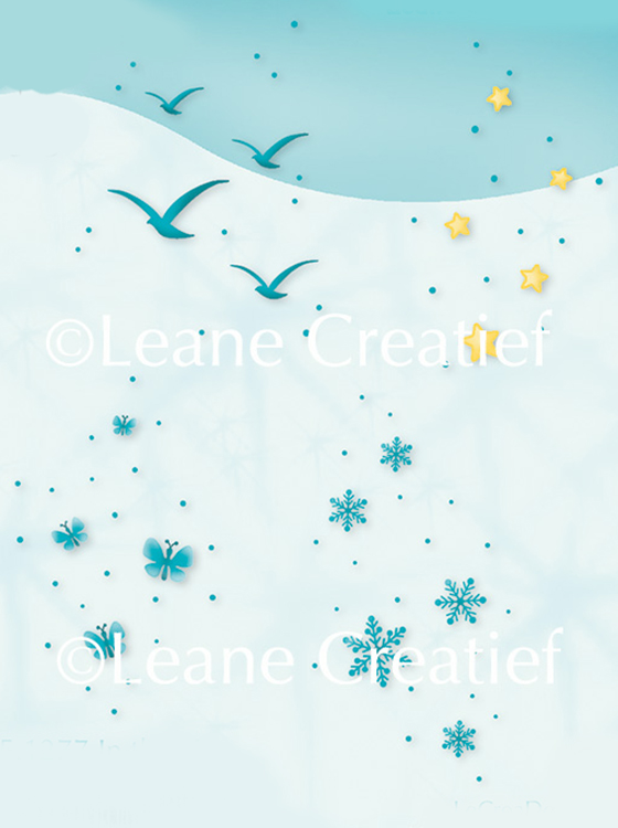 LeCreaDesign® clear stamp In the air.