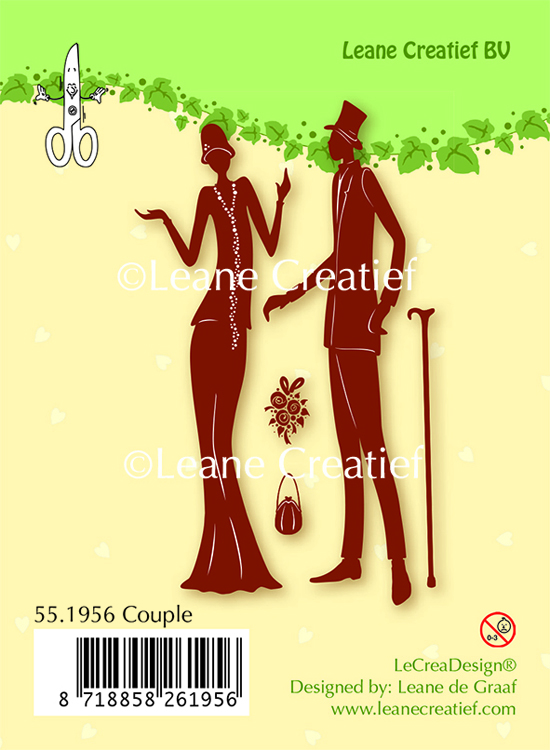 Clear stamp Couple
