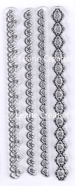 Clear stamp Lace small