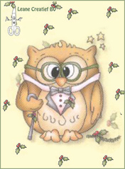 Clear Stamp - Owl Popco