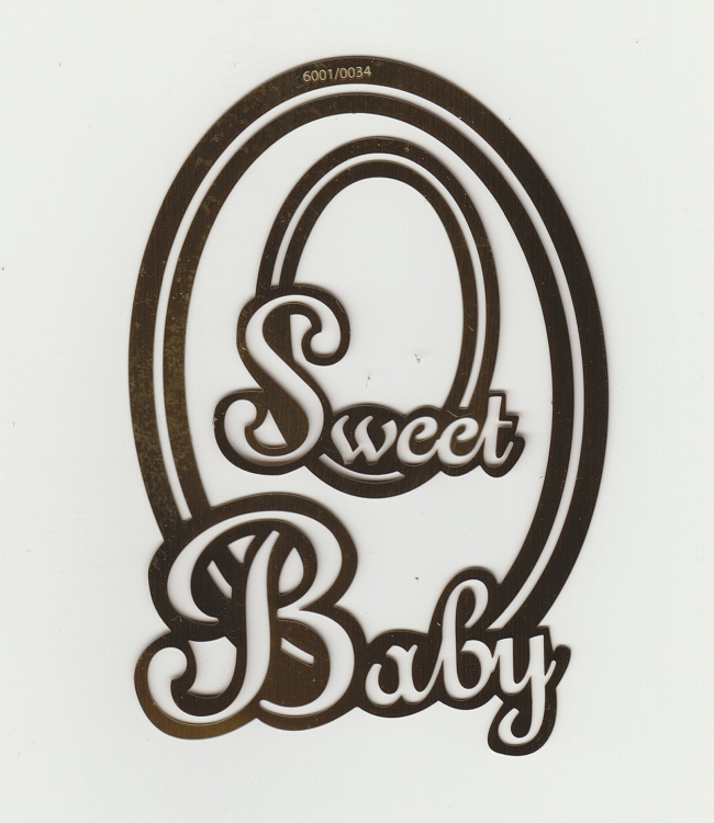 Text Stencil - Sweet Baby