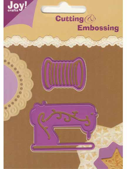 Joy! Crafts Dies - Sewing Machine/Spool