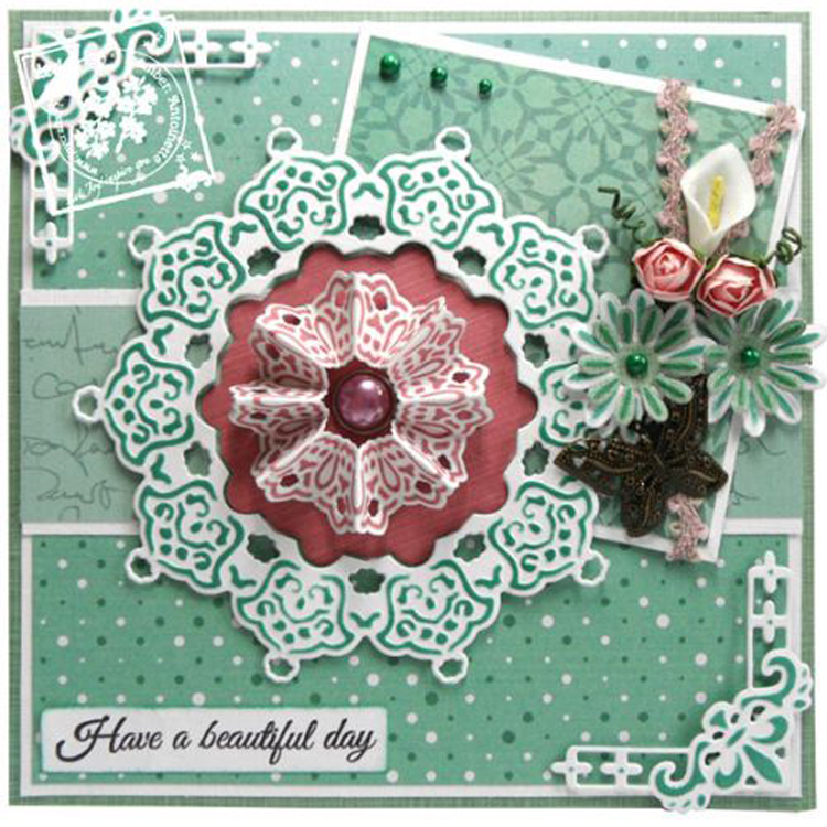 Joy! Crafts Dies - French Lily Small Corner