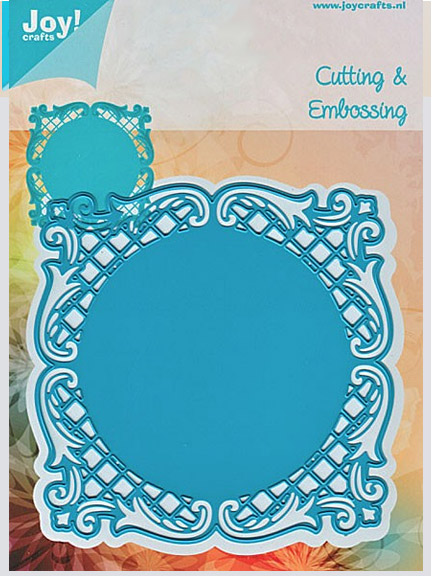 Joy! Crafts Dies - Lacey Square Frame