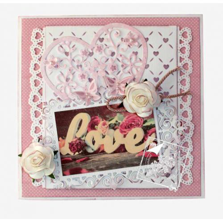 Joy! Crafts Cutting & Embossing Die -Small Heart Border