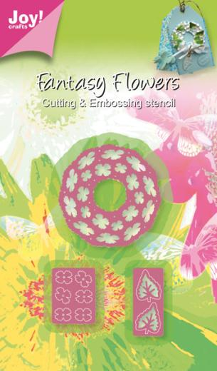 Joy! Crafts Cutting & Embossing Die -3D Fantasy Wreath