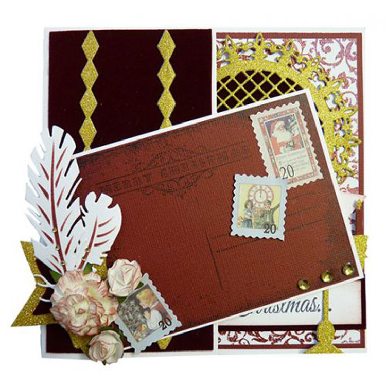 Joy! Crafts Cutting & Embossing Die - Two Feathers 1