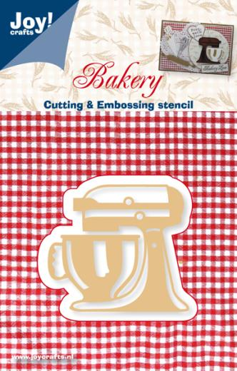 Joy! Crafts Cutting & Embossing Die Bakery -Mixer