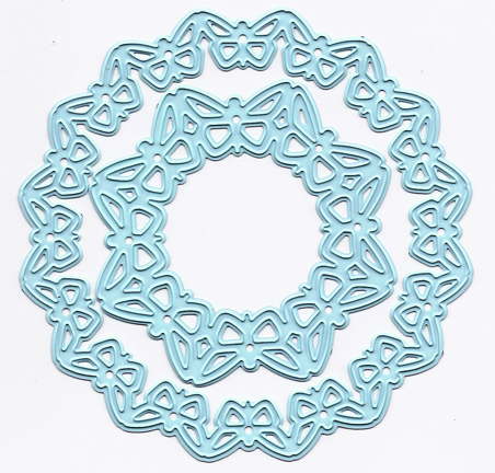Joy! Crafts Cutting and Embossing Die Circle Butterfly Circle