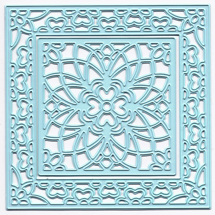 Joy! Crafts Cutting & Embossing die Flower Square