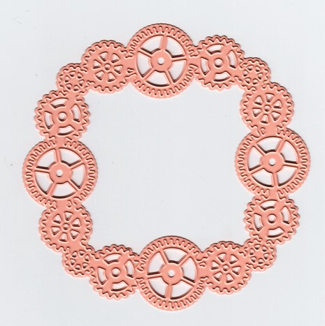 Cutting and Embossing Die - Circle of Gears