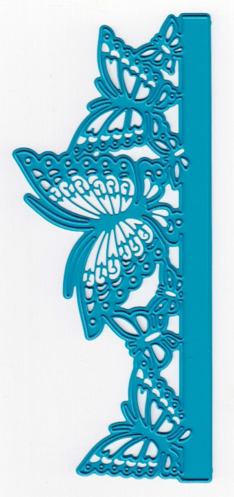 Cutting and Embossing die - edge-butterflies